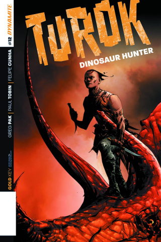 Turok: Dinosaur Hunter #12 (Lee Subscription Cover)