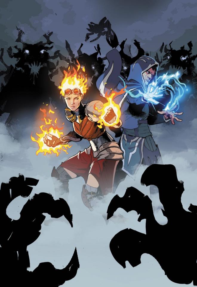 Magic the Gathering: Chandra - The Trials of Alara #2