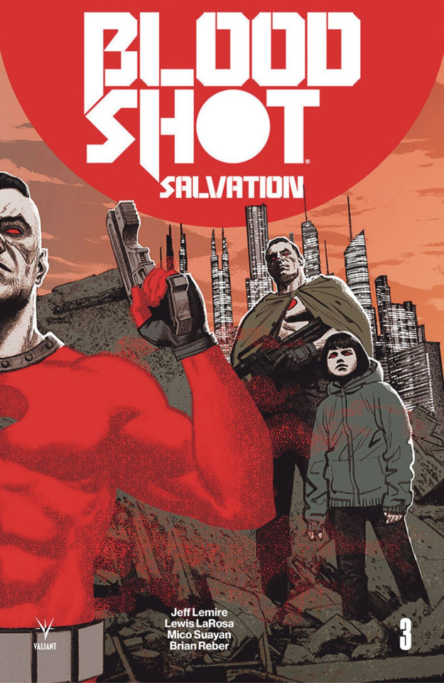 Bloodshot: Salvation #3 (20 Copy Interlock Smallwood Cover)