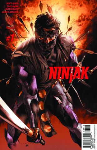 Ninjak #1 (2nd Printing)