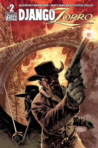 Django / Zorro #2 (Subscription Cover)