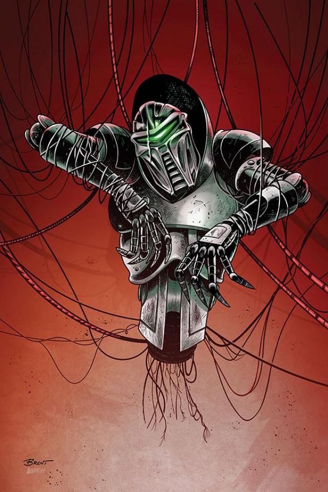 Battlestar Galactica: Twilight Command #4 (25 Copy Schoonover Cover)