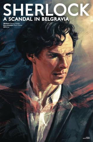 Sherlock: A Scandal in Belgravia #1 (Zhang Sherlock Cover)