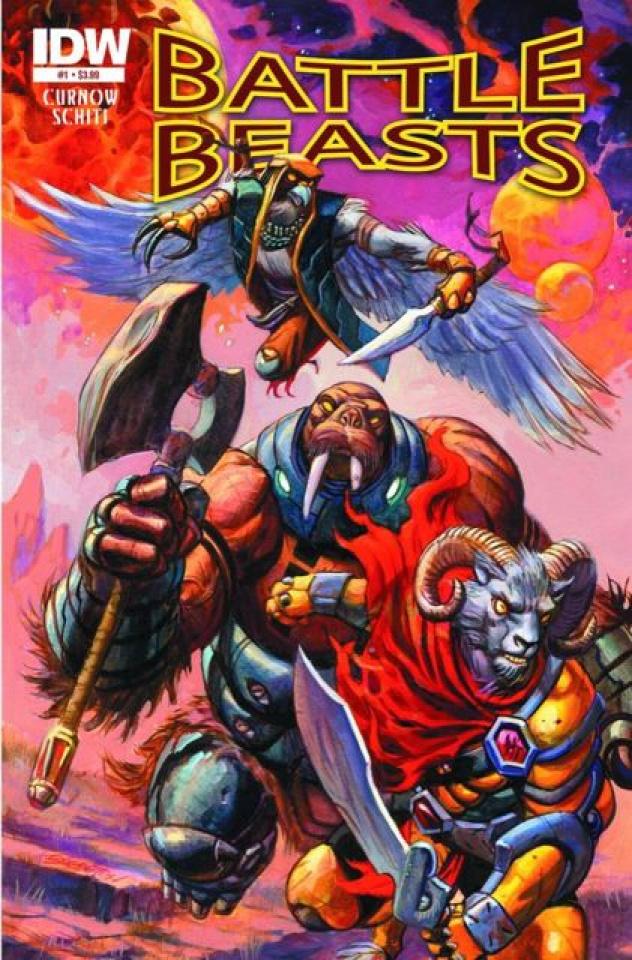 Battle Beasts #1