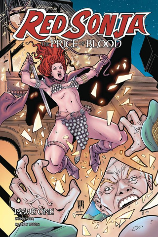 Red Sonja: The Price of Blood #1 (Geovani Cover)