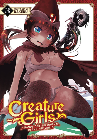 Creature Girls: A Hands-On Field Journal in Another World Vol. 3