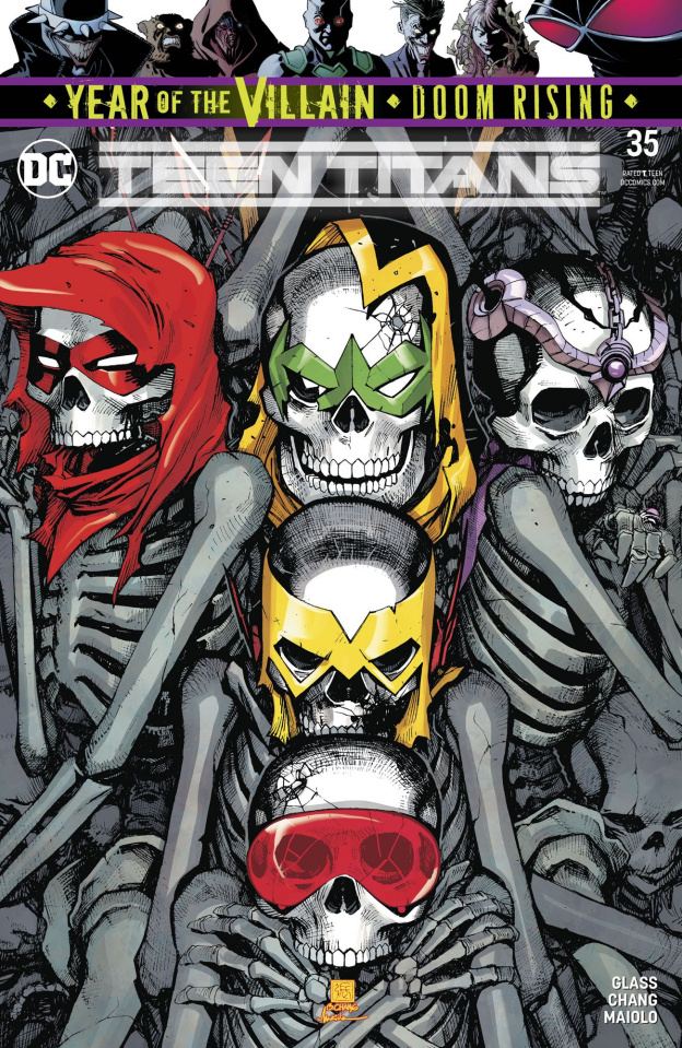 Teen Titans #35 (Year of the Villain)