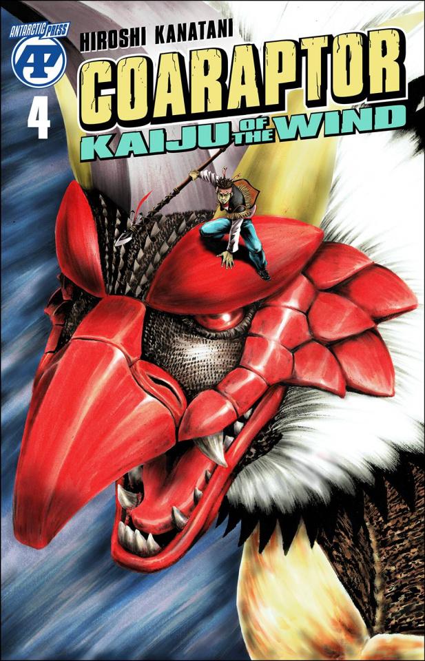 Coaraptor: Kaiju of the Wind #4