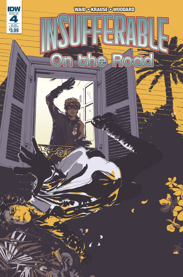 Insufferable: On the Road #4 (Subscription Cover)