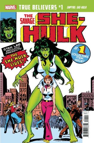 Empyre: She-Hulk #1 (True Believers)