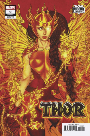 Thor #9 (Frison Valkyrie Phoenix Cover)