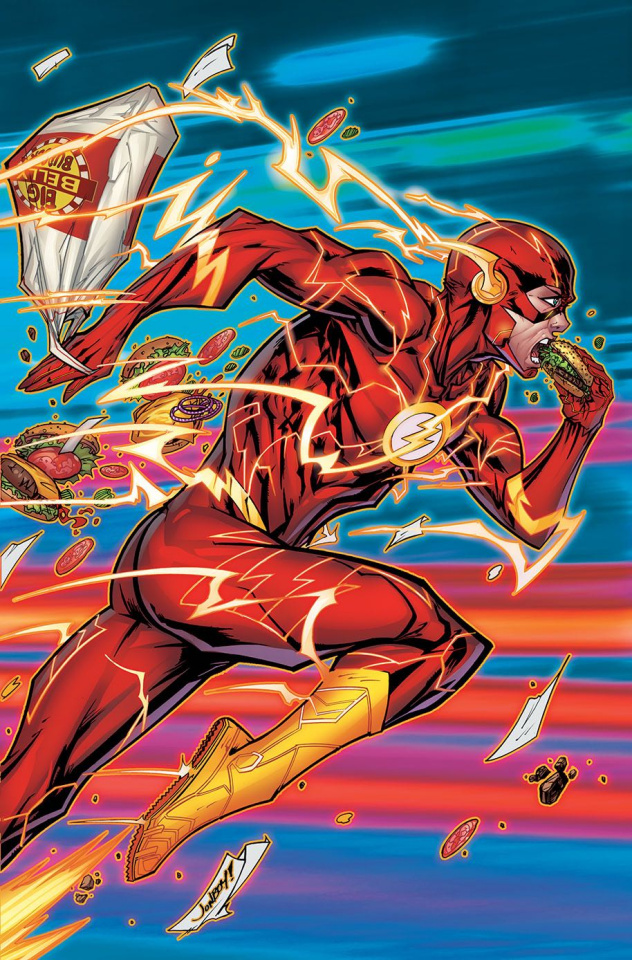 The Flash #53 (Variant Cover)
