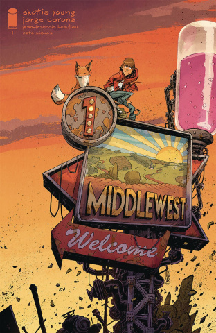 Middlewest #1 (10 Copy Corona Cover)