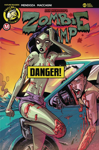 Zombie Tramp #42 (Celor Risque Cover)