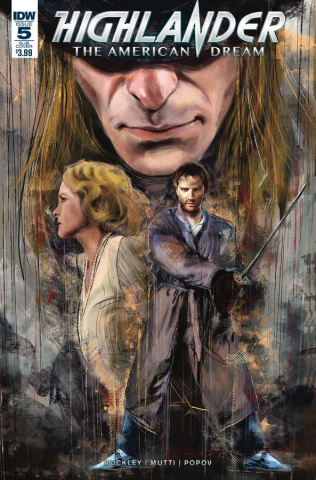 Highlander: The American Dream #5 (Subscription Cover)
