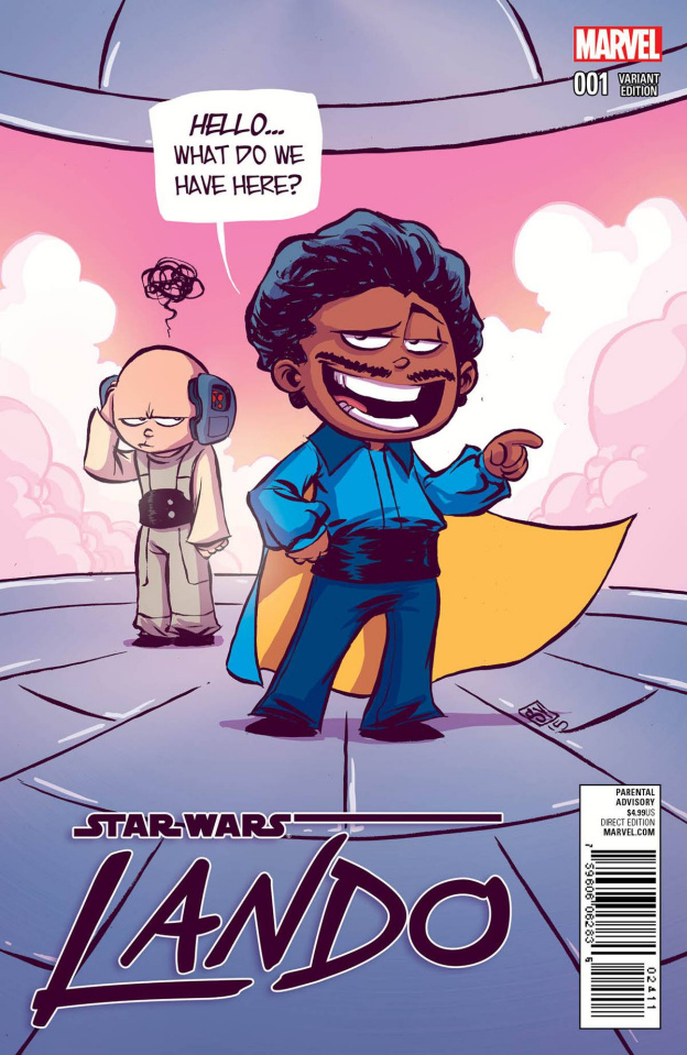 Star Wars: Lando #1 (Young Cover)