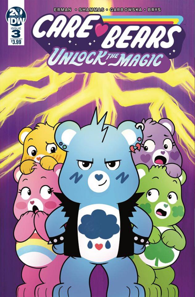 Care Bears: Unlock the Magic #3 (Garbowska Cover)