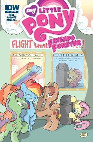 My Little Pony: Friends Forever #18 (Subscription Cover)