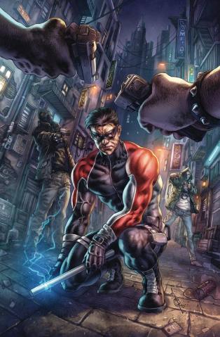 Nightwing #73 (Alan Quah Joker War Cover)