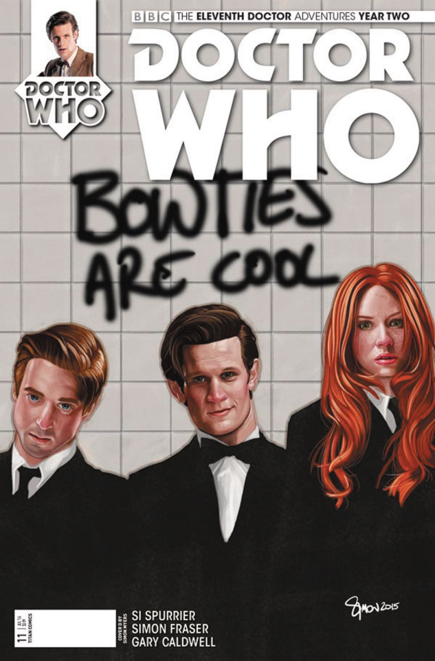 Doctor Who: New Adventures with the Eleventh Doctor, Year Two #11 (Myers Cover)