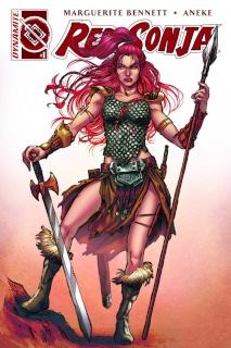 Red Sonja #1 (25 Copy Scott Unique Cover)