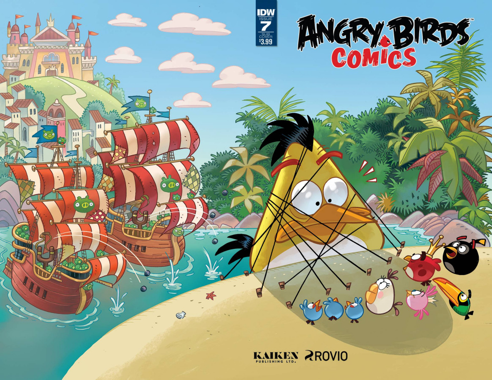 Angry Birds Comics #7 (Subscription Cover)