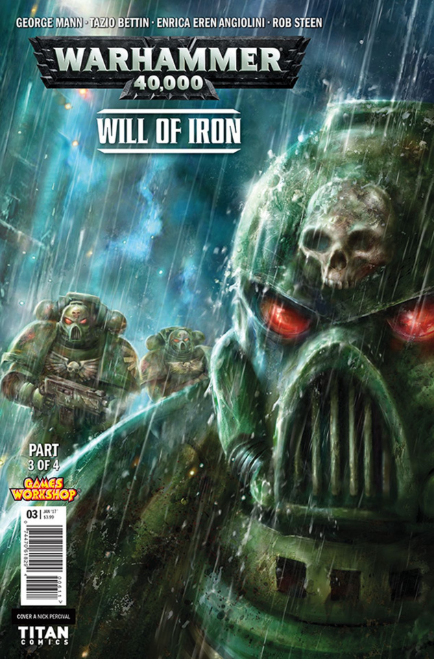 Warhammer 40,000: Will of Iron #3 (Percival Cover)