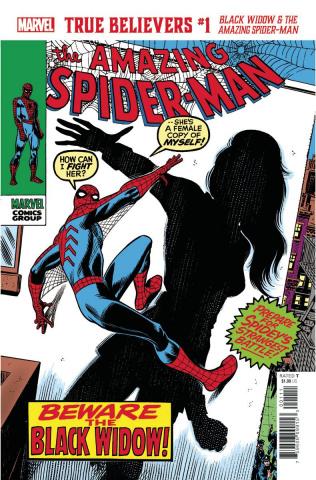 Black Widow & The Amazing Spider-Man #1 (True Believers)