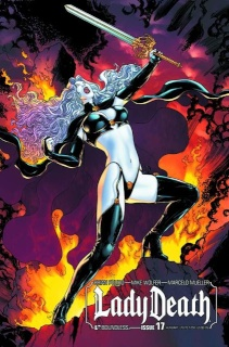 Lady Death #17 (Auxiliary Cover)