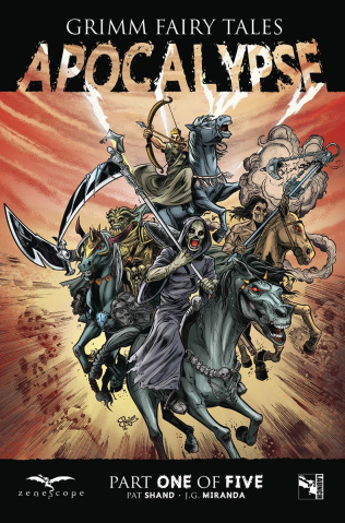 Grimm Fairy Tales: Apocalypse #1 (Martinez Cover)