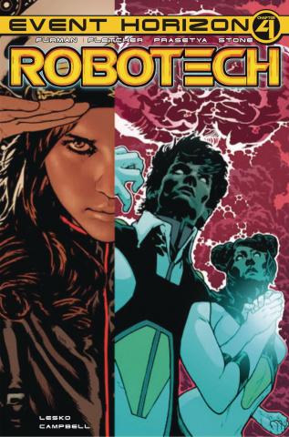Robotech #24 (Spokes Cover)