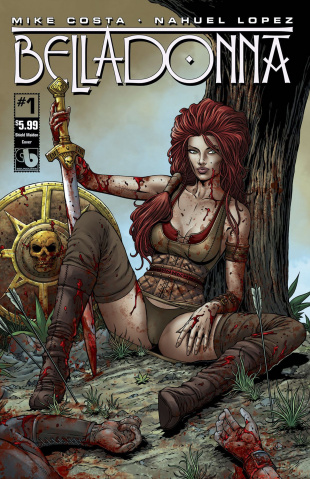 Belladonna #1 (Shield Maiden Cover)