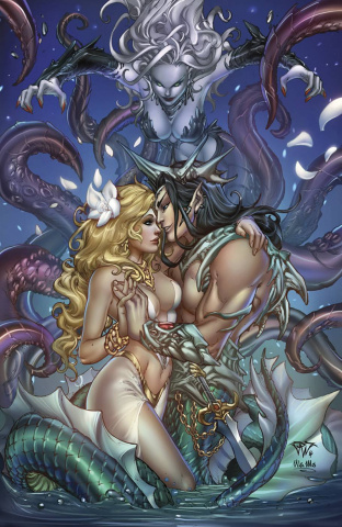 Grimm Fairy Tales: The Little Mermaid #2 (Pantalena Cover)