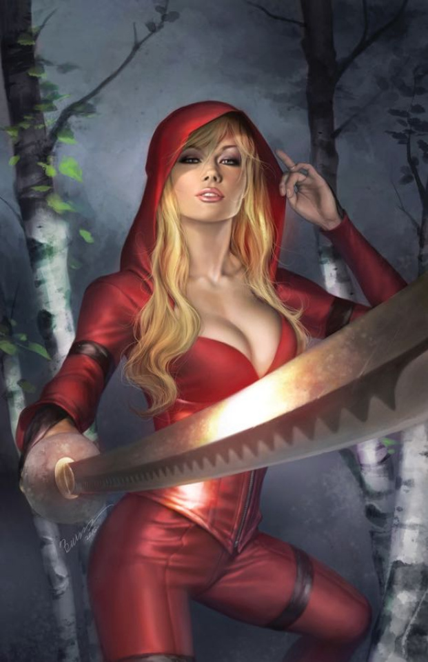 Grimm Fairy Tales: Red Agent - The Human Order #1 (Burns Cover)