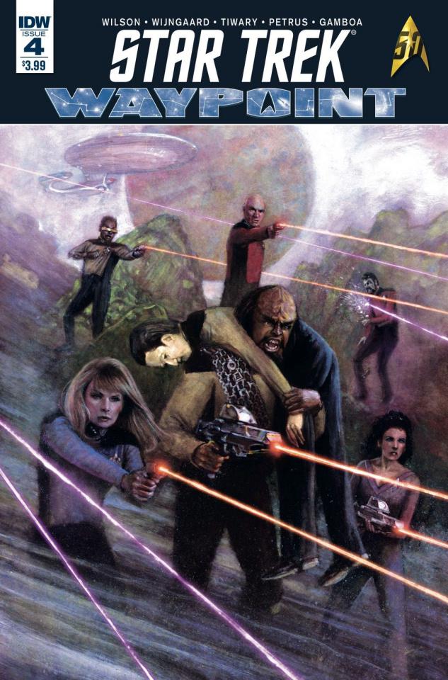Star Trek: Waypoint #4 (Subscription Cover)