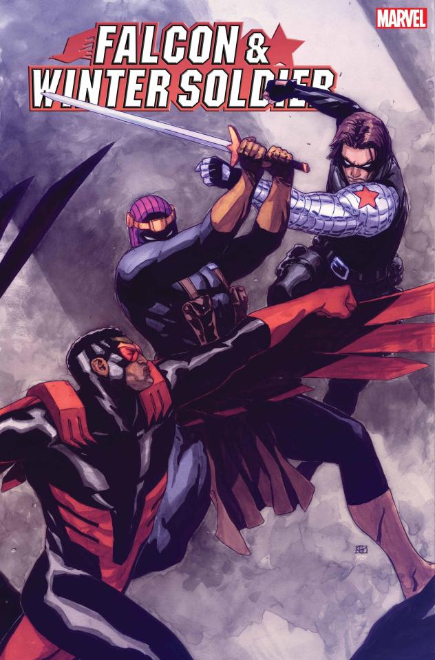 Falcon & Winter Soldier #5 (Pham Cover)