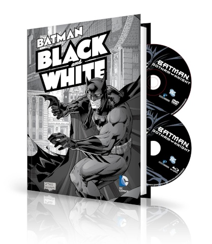 Batman: Black & White Vol. 1: Book & DVD/BluRay Set