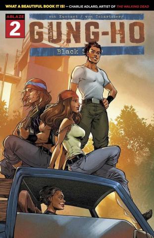 Gung-Ho #2 (Guerrero Cover)