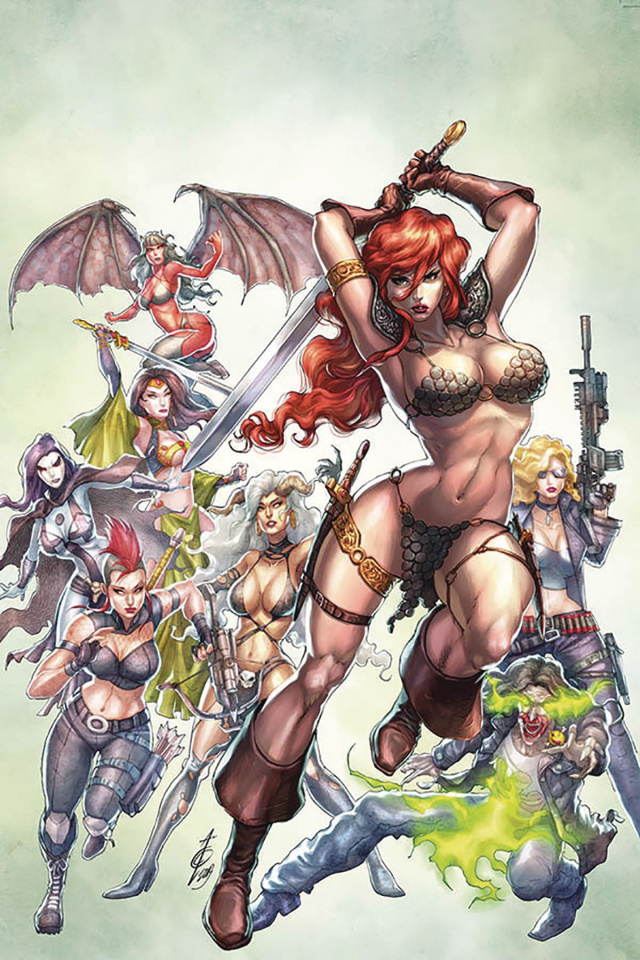 Red Sonja: Age of Chaos #2 (Quah Virgin Cover)