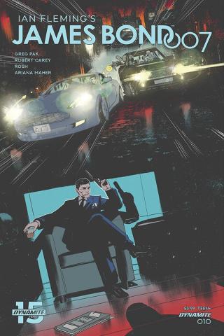 James Bond: 007 #10 (Carey Cover)