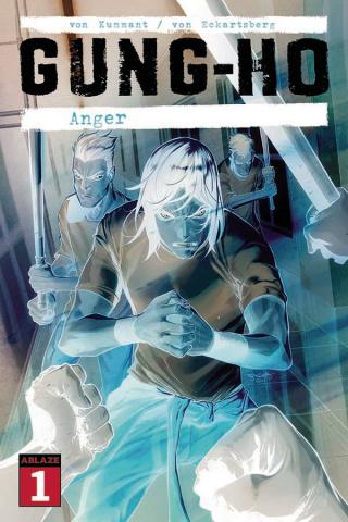 Gung-Ho: Anger #1 (50 Copy Stephen Segovia Negative Cover)