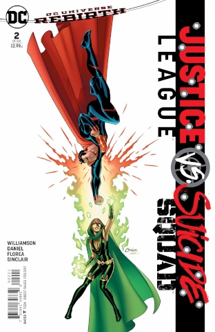 Justice League vs. Suicide Squad #2 (Conner Cover)