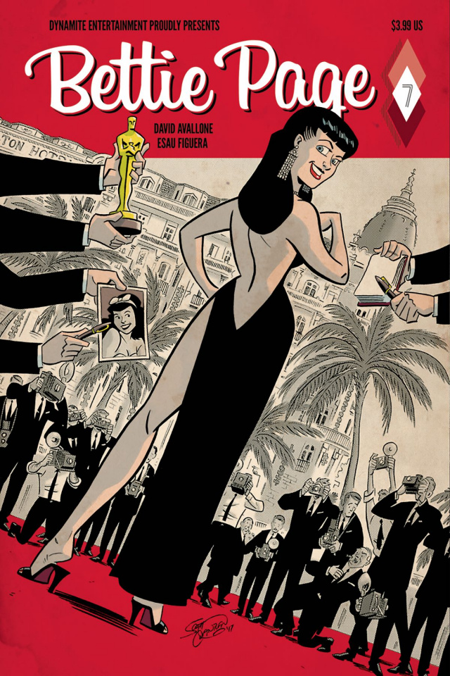 Bettie Page #7 (Chantler Cover)