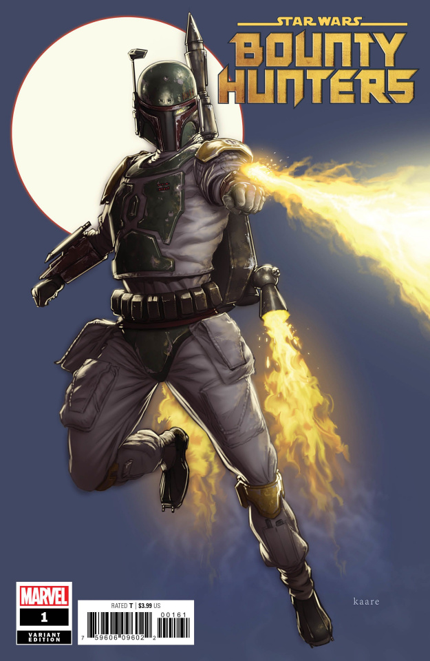 Star Wars: Bounty Hunters #1 (Andrews Cover)