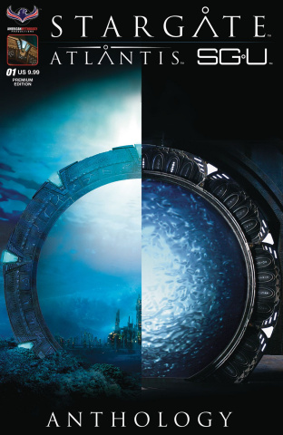 Stargate Atlantis/Universe Anthology 2018 (Flashback Premium Cover)