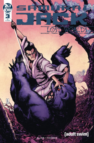 Samurai Jack: Lost Worlds #3 (10 Copy Zama Cover)
