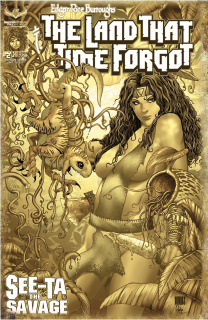 The Land That Time Forgot: See-Ta the Savage #2 (Antique Limit Cover)