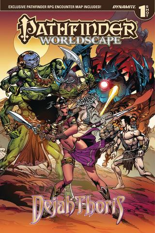 Pathfinder Worldscape: Dejah Thoris (Kickstarted Edition)
