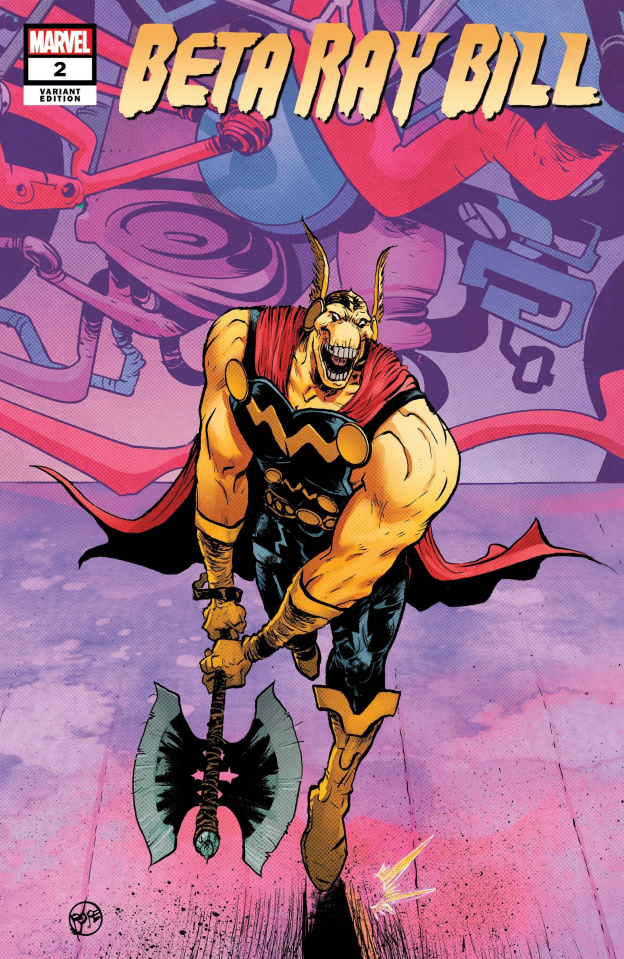 Beta Ray Bill #2 (Pope Cover)