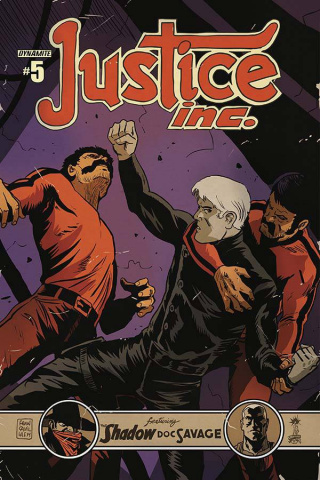 Justice, Inc. #5 (Francavilla Cover)